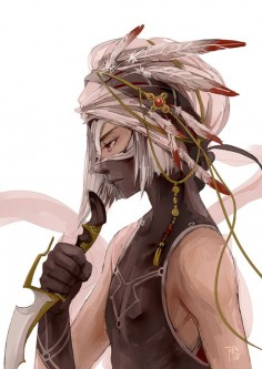 #manga #anime #assassin by ~gtako on deviantART, why do I like this so much? seems like a really epic character
