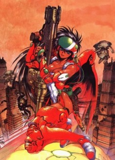 Masamune Shirow art