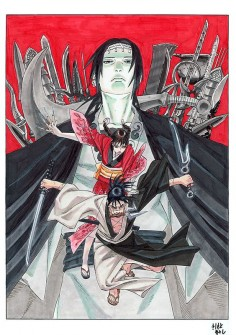 Masashi Kishimoto (of Naruto-fame) illustrates Blade of the Immortal
