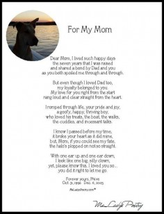 Memorial Dog Poem