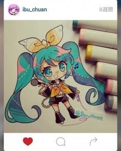 Miku kagamine [@ibu_chuan] Kawaii~ . . #kawaiigirl #kawaii #animation #drawings #draw #drawing #loli #cutegirl #cute #likeforlike #l4l #likeforlike #vocaloid #vocaloidfamily #vocaloids #miku #hatsunemiku #mikuhatsune #kagamine #rinkagamine
