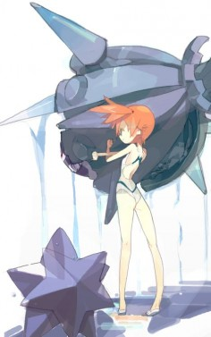 Misty ready to battle