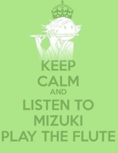 Mizuki and the flute :D(Kamisama Hajimemashita) FUNNIEST THING EVER.