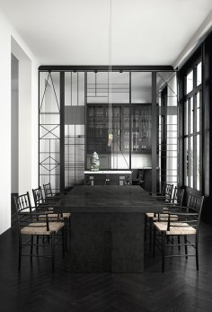 monochrome barcelona apartment | katty schiebeck 3