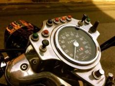 Moto Guzzi Eldorado - Greenwich Street, NYC