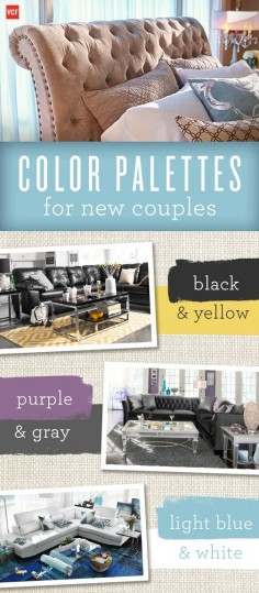 Moving in together can be fun but tough! Learn which color combinations work best for you and your boo.