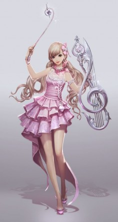 Musical characters to create music of love, together with the help of my friends and a pull of a string, we can create music to help those in need of love and confidence