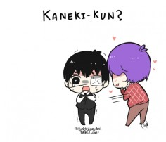 My anaconda don't, my anaconda don't, my anaconda don't want none unless ur Kaneki-kun, hun ♥