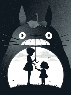 My Neighbor Totoro on Behance by Guillaume Morellec from Paris, France.