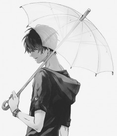 Mysterious guy with an umbrella - Zankyou no Terror #Twelve - Terror in Resonance