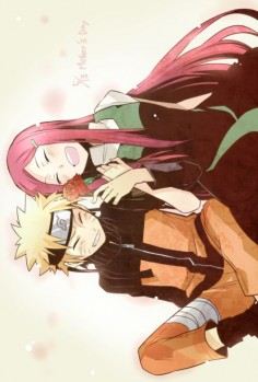 Naruto and Kushina