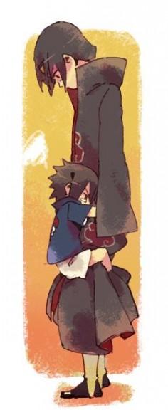 Naruto » Fanart + ♥ | Itachi and Young Sasuke | #itachi #sasuke