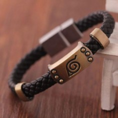 Naruto Leaf Bracelet