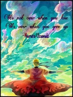 Naruto quote. ♥
