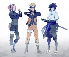 naruto uzumaki, sakura haruno, sasuke uchiha