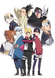 Naruto's son, Boruto.