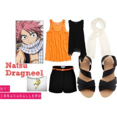 """natsu dragneel - fairy tail"" I don't care how long it takes to find this outfit but when I do I will wear it"