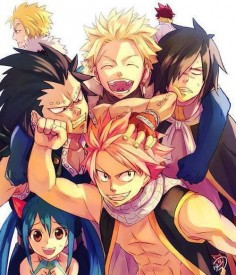 Natsu Dragneel, Rogue Cheney, Sting Youclif, Wendy Marvell, Gajil Redfox, Luxus Drear, Cobra
