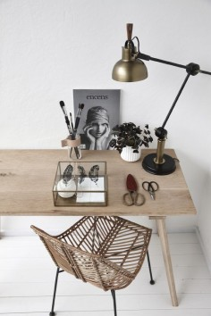 Natural Workspace inspiration//