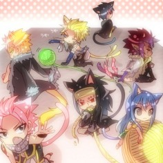 Neko Dragon Slayer soooo kawaiii