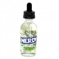 Nerdy e-Juice | Green Apple Peach 60ml