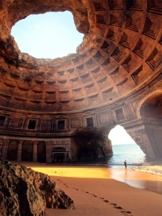 Never heard of this.  Looks fascinating  Forgotten Temple of Lysistrata, Greece.