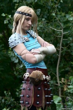 Not Disney, but LOVE! Astrid from How to Train Your Dragon. If only I still had my long hair!