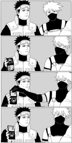 ♥ Obito & Kakashi - Plot from Supernatural - by yomi-gaeru, tumblr