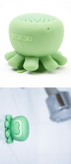 Octopus Bluetooth Shower Speakers