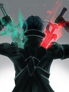 "of course, his swords don't actually glow. But this reminded me of ""dark sword"" from book 1"
