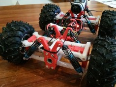 Off Road, 4wd (or 6wd) RC Car by davidbec08 - Thingiverse