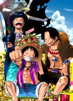 one piece luffy sabo ace