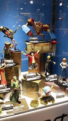 One Piece Mugiwara Store in Tokyo Inside Look