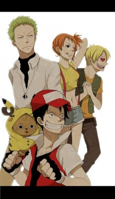 One Piece/Pokemon
