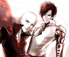 One Punch Man - Evil Saitama & Genos