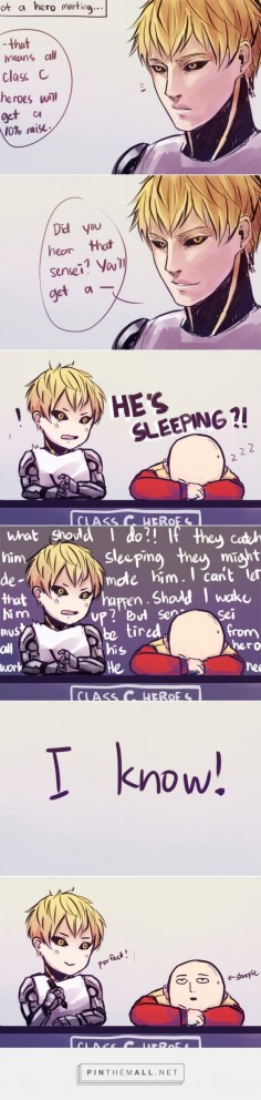 One Punch Man - Genos and Saitama - comic