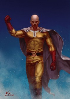 One Punch Man - Saitama, InHyuk Lee on ArtStation at  wow art