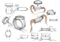 OnePlus Shares Sketches Of Its Scrapped Smartwatch Project #Android #CES2016 #Google