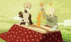 Onepunch-Man, Saitama and Genos