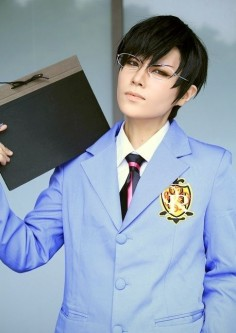 Ouran High School Host Club: Kyoya Ootori cosplay