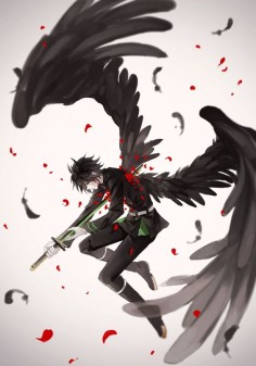 Owari no Seraph / Seraph of the End - Hyakuya Yuuichirou / Yuu by 照衣 on pixiv