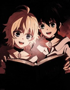Owari no Seraph/Seraph of the End Mika and Yuu as kids