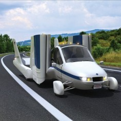 Perfect for my commutes! This vehicle converts from a street-legal automobile to a Light Sport aircraft in 30 seconds.