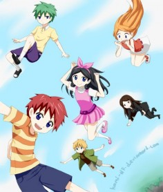 Phineas and Ferb - Anime! This is  it lacks Perry
