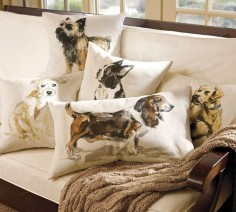 Pillows of a Girl's Best Friend! - Driven by Decor