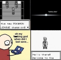 #Pokemon #Save when?