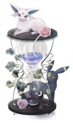 Pokemon. Umbreon and Espeon