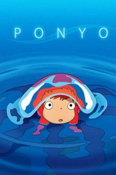 Ponyo from Studio Ghibli    Beautiful, creative, sweet, funny and just plain strange.  I love movies from Ghibli.  Staff Pick: Cheryl B