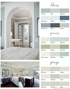 Popular Bedroom Paint Colors. The Creativity Exchange
