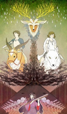 PRINCESS MONONOKE!!!!